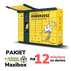 Arkana Maxibox 12 - darmowa dostawa przez 12 miesięcy
