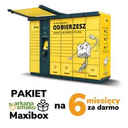 Arkana Maxibox 6 - darmowa dostawa przez 6 miesiący