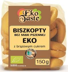 Biszkopty kukurydziane BIO 150 g  (tast)