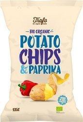 Chipsy ziemniaczane o smaku paprykowym BIO 125 g