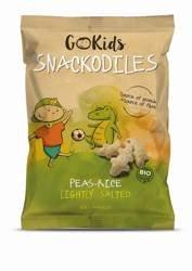 Chrupki Krokodyle z groszku i ryżu BIO 30 g