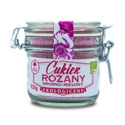 Cukier różany drobno mielony bio 120 g