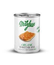 Fasola biała w sosie pomidorowym BIO 400 g/ 240 g