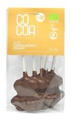 Lizaki czekoladowe creamy bezglutenowe BIO (5 x 15 g) 75 g