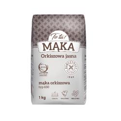 Mąka orkiszowa jasna 1 kg