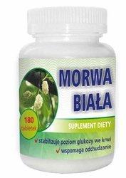 Morwa biała 180 tabletek Suplement Diety