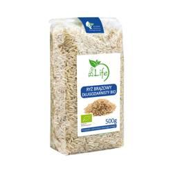 Ryż brązowy długoziarnisty ekologiczny BIO 500 g