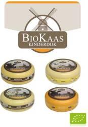 Ser gouda młody kozieradka mały krąg (ok.1kg) bio kg, Kinderdijk