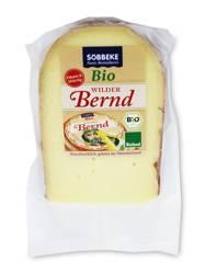 Ser żółty dojrzewający wilder bernd (50 % tłuszczu w suchej masie) BIO 150 g