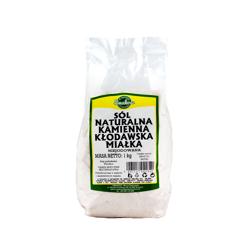 Sól naturalna kamienna miałka niejodowana 1 kg
