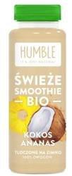 Świeże smoothie kokos-ananas BIO 300 ml