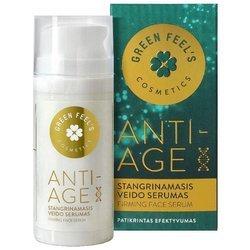 Ujędrniające Przeciwzmarszczkowe serum do twarzy ANTI-AGE 30ml GREEN FEEL'S