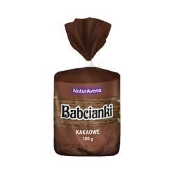 Wafelki bez tłuszczu i bez barwników kakaowe 100 g