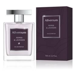 Woda perfumowana męska, pepper & lavender, 100ml Allvernum