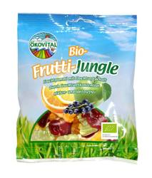 Żelki zwierzaki owocowe bez laktozy bezglutenowe 100 g